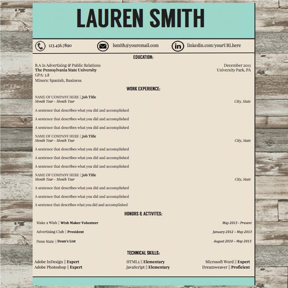 professional resume template cv template microsoft word instant
