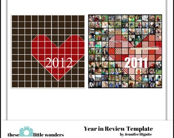 Year in Review Template