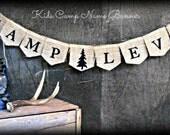 Woodland Lumberjack birthday name banner, Garland, Photo Prop, Tee Pee, Buffalo plaid, Camping theme, highchair, onederland