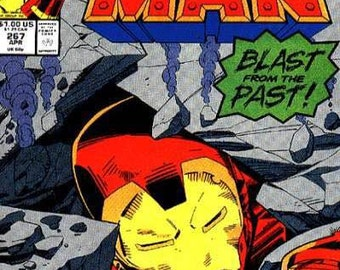 1991 IRON-MAN Issue 267 Comic Book