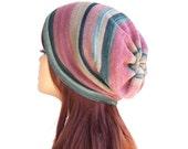 Slouchy Hat Womens Knit Hat Lightweight Beanie Hat Spring Summer Fall Hat Oversized Beanie Cotton Beanie Womens Hat Knit Hat For Women