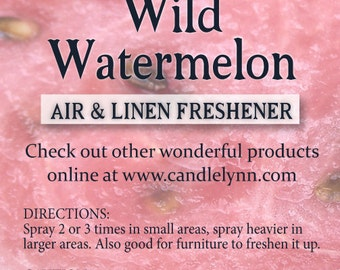 Fragrance Spray -WATERMELON - 8 oz - Bath & Home