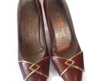 Vintage bruno magli shoes, Magli heels italy ,size 7 1/2 AA
