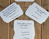 Martin Luther King, Jr. Quote Cards - Mini Cards  - MLK Quotes - Quotable Quotes - 2 x 3.5