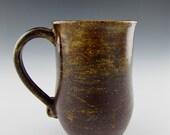 Amber and Chocolate Mug