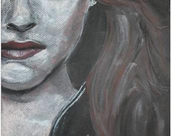 Twilight. Kristen Stewart as Bella Swan. Print. Frame Ready. 5x7, 8x10 or 11x14