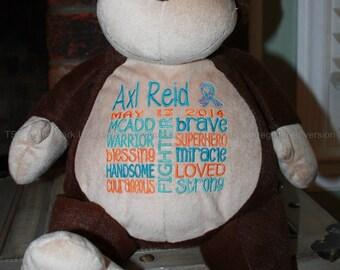 MCADD Warrior Pet, stuffed animal
