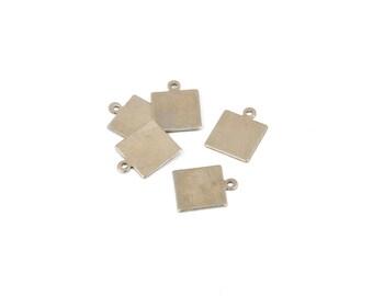 10 Brass Sheet Metal Stamping Blanks Round Circle By