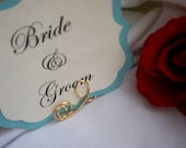 Elegant Wedding Table Number Holders, 3pcs
