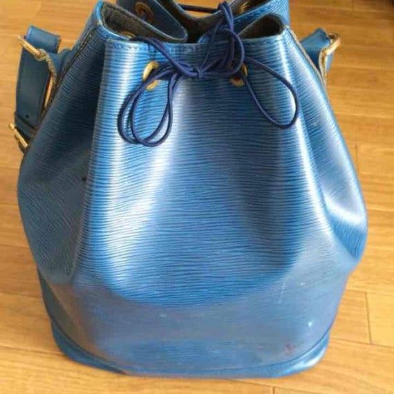 Louis Vuitton Blaue Tasche