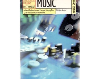 Music Dictionary  by Harper Collins (Paperback)