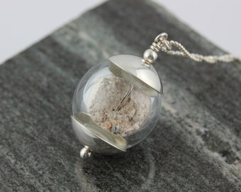 Pet Cremains Pendant in Loving Memory Of Your Lost Pet
