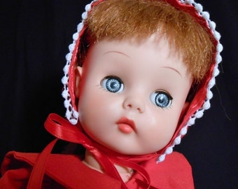 """1950s HORSMAN Ruthie Doll Red Hair T-16 16"""" Tall"""