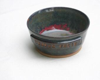 Tempus Fugit Large Serving Bowl