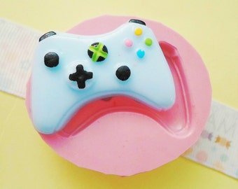 25mm Controller Flexible Silicone Mold - Decoden Kawaii Sweets Resin Fimo Polymer Clay Sculpey Wax Soap Fondant Cabochon