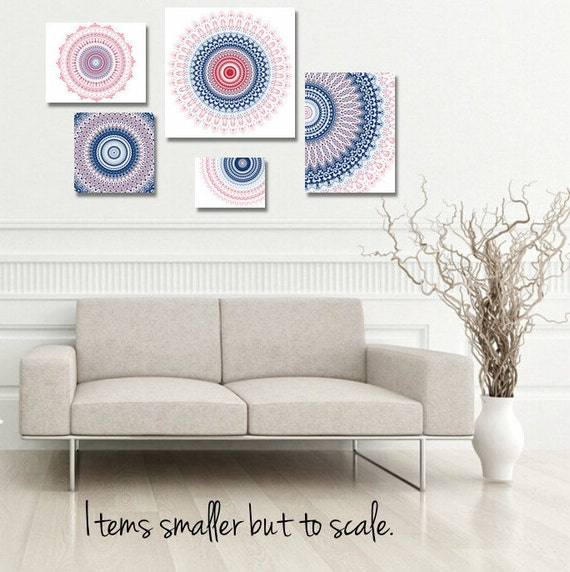Office Wall Decor Set : Items similar to wall art set of prints cluster
