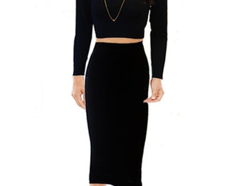 Millie High Waist Pencil Skirt