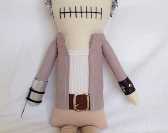"Creepy n Cute Zombie Doll - ""Merle Dixon"" - Inspired by TWD (P & D)"