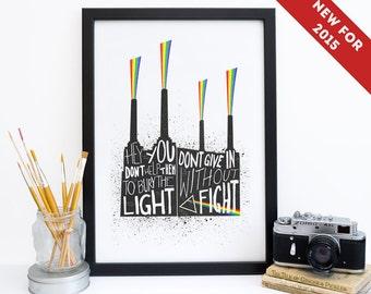 Wedding Gift List Battersea : Pink Floyd Print Poster, Battersea Power Station, Pink Floyd ...