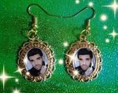SALE! Drake Gold Grunge Earrings