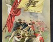 Memorial Day Postcard / Bunker Hill Postcard / Patriotic Postcard / Rattlesnake Flag Postcard / John Winsch Postcard