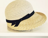 L-cap Natural Straw Hat