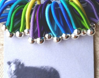 size Medium  'Peru' - soft flexible FLOOPS knitting stitch markers