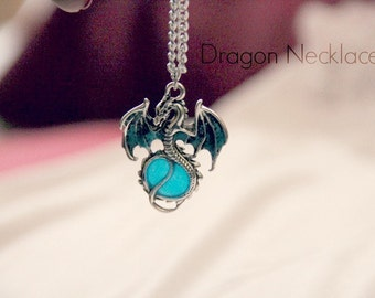 Glow in the Dark Dragon Necklace *back for a limited time*