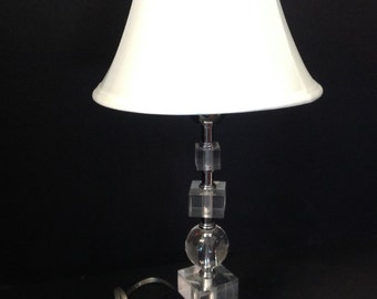 """Designer Ice Cube Desk Lamp from Thomas O'Brien's  """"Vintage Modern"""" Collection"""