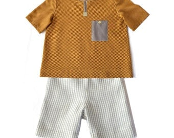 Boys linen shorts/toddler shorts/girls shorts