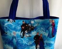 Disney Frozen Bag, Frozen Birthday Party, Frozen Toto Bag, Dance Bag, Frozen Gift Bag, Disney Inspired Toto Bags, Frozen Toddler Bags