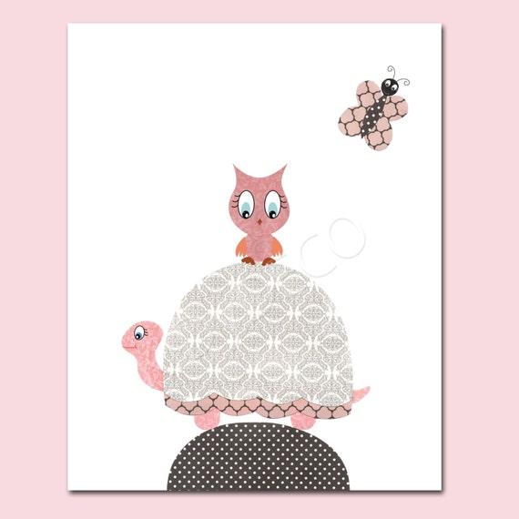Illustration pour chambre de b b fille p pini re de par - Illustration chambre bebe ...