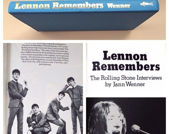 1971 ED. Lennon Remembers, The Rolling Stone Interviews