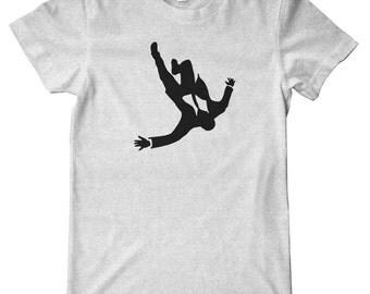 Mad Men Falling Man Premium T-Shirt