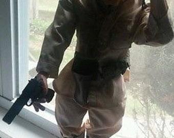 Men Of Honor Doll Vintage Soldier gun knife holster