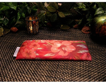 Flax Seed Eye Pillow, Pampering. Migraine Relief. Hot Flashes. Yoga Pillow. Natural Headache Relief. Birthday Gift. Gift for Sister in Law.