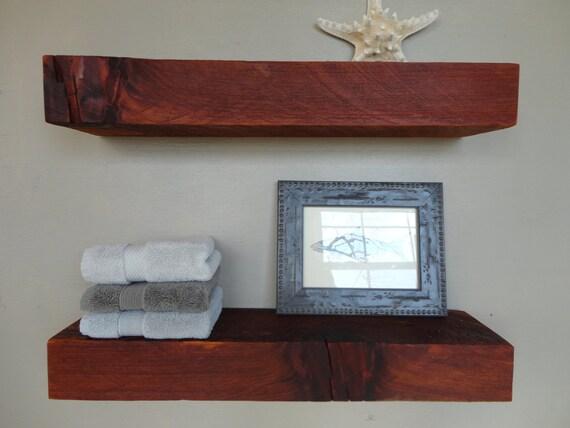 Barn wood shelves barnwood shelf over year old