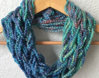 Infinity Scarf, Arm Knit Scarf
