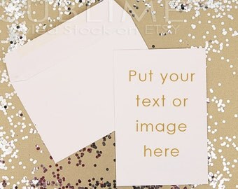 Styled Stock Photography / Blank Card / Mockup / Card Design / Card Mock up / Styled Stationery /  2 JPEG Images / StockStyle-430