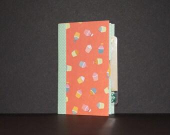 Birthday Card/Gift Card Holder -- Cupcakes