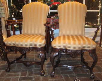 F2301E: Pair of Oxford Arm Chairs