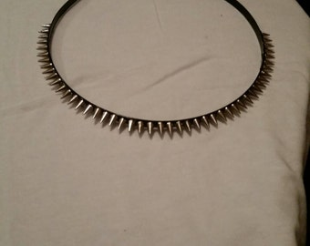 All Spiked Up Headband Silver