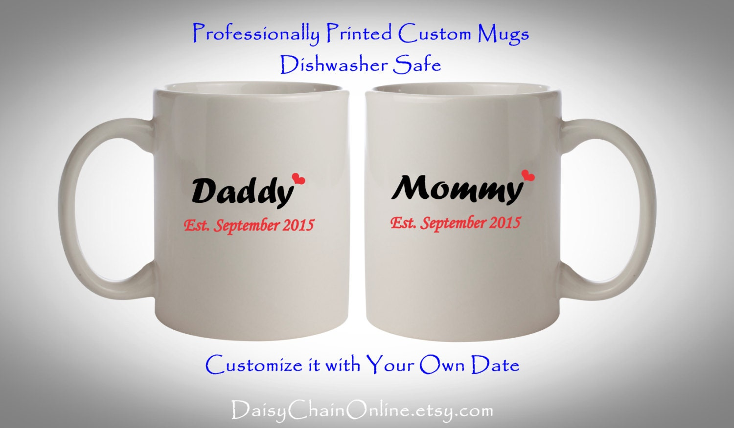 baby shower gift mom and dad mugs pregnancy reveal by mugrepublic