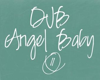 DJB Angel Baby Font (Single User Commercial License)