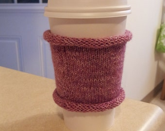 Reusable coffee cup cozy