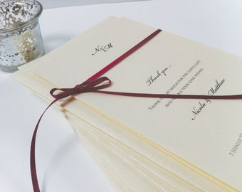 Thank you Cards, Wedding Thank You Cards, Personalised Cards, Handmade Thank you