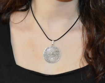Ancient Persian Coin Necklace