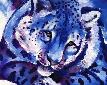 Acrylic Finger Painting Rainbow Art 4/6&5/7 Prints