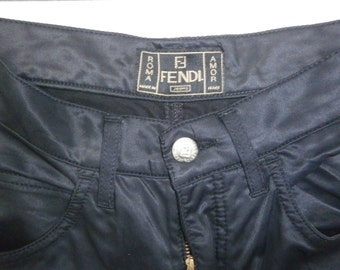 fendi jeans 5-pocket jeans model pants sz 28 made in italy