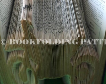 motor bike book folding pattern